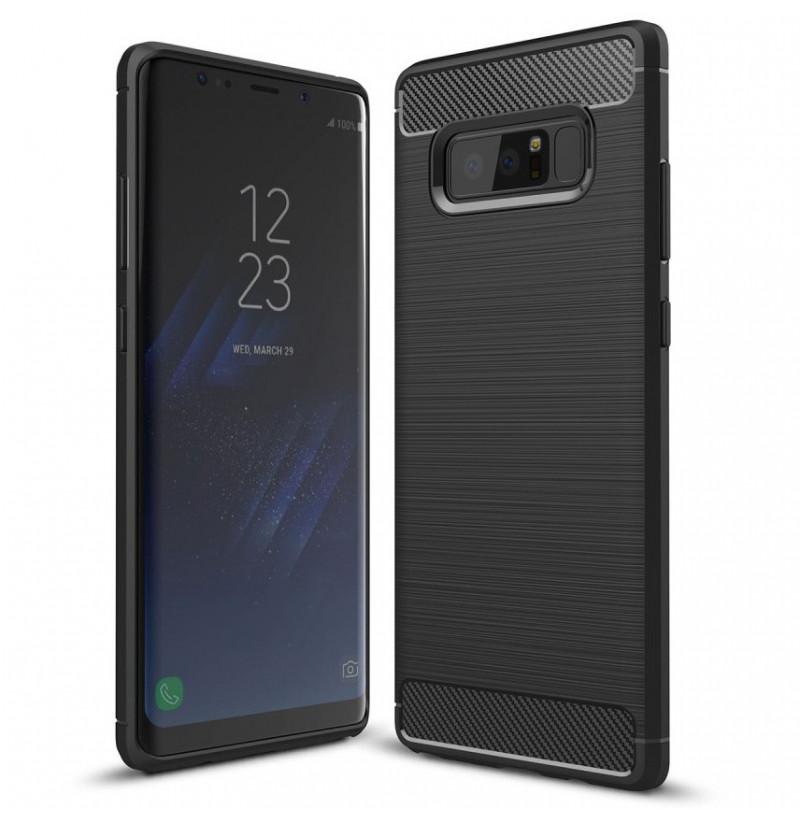 2745 - MadPhone Carbon силиконов кейс за Samsung Galaxy Note 8