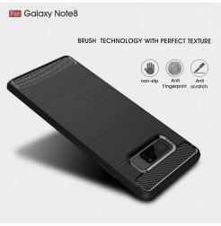 2746 - MadPhone Carbon силиконов кейс за Samsung Galaxy Note 8