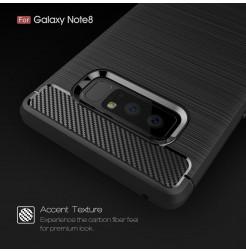 2747 - MadPhone Carbon силиконов кейс за Samsung Galaxy Note 8