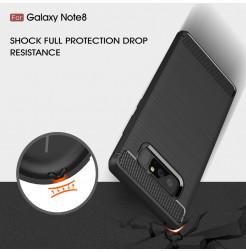 2748 - MadPhone Carbon силиконов кейс за Samsung Galaxy Note 8