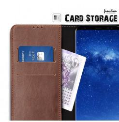 2867 - MadPhone Classic кожен калъф за Samsung Galaxy Note 8