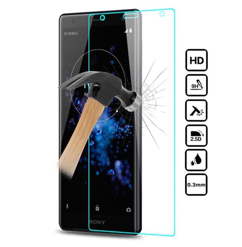 2958 - MadPhone стъклен протектор 9H за Sony Xperia XZ2