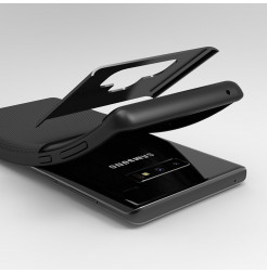 3082 - iPaky Grid хибриден калъф за Samsung Galaxy Note 9