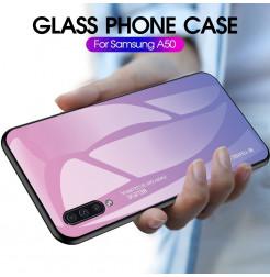 314 - NXE Sky Glass стъклен калъф за Samsung Galaxy A50 / A30s