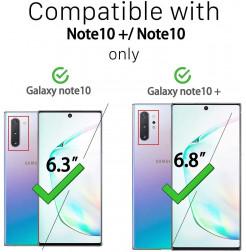 3238 - Стъклен протектор за камерата на Samsung Galaxy Note 10 / 10+ Plus
