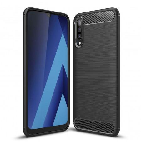 346 - MadPhone Carbon силиконов кейс за Samsung Galaxy A50 / A30s