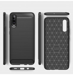 347 - MadPhone Carbon силиконов кейс за Samsung Galaxy A50 / A30s