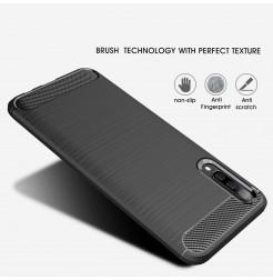348 - MadPhone Carbon силиконов кейс за Samsung Galaxy A50 / A30s