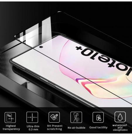 3574 - 3D стъклен протектор за целия дисплей Samsung Galaxy Note 10+ Plus