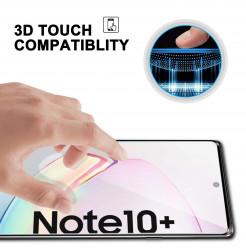 3576 - 3D стъклен протектор за целия дисплей Samsung Galaxy Note 10+ Plus