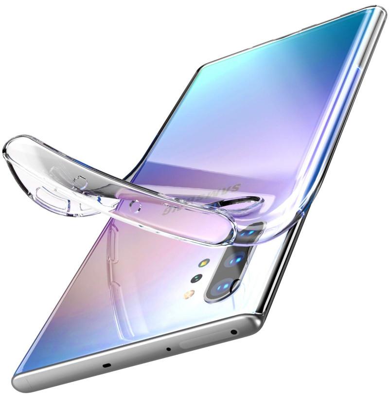 3680 - MadPhone супер слим силиконов калъф за Samsung Galaxy Note 10+ Plus