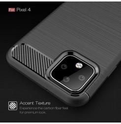 37 - Rugged Carbon силиконов калъф за Google Pixel 4