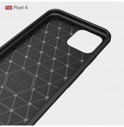 38 - Rugged Carbon силиконов калъф за Google Pixel 4