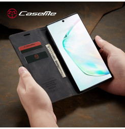 3877 - CaseMe премиум кожен калъф за Samsung Galaxy Note 10+ Plus