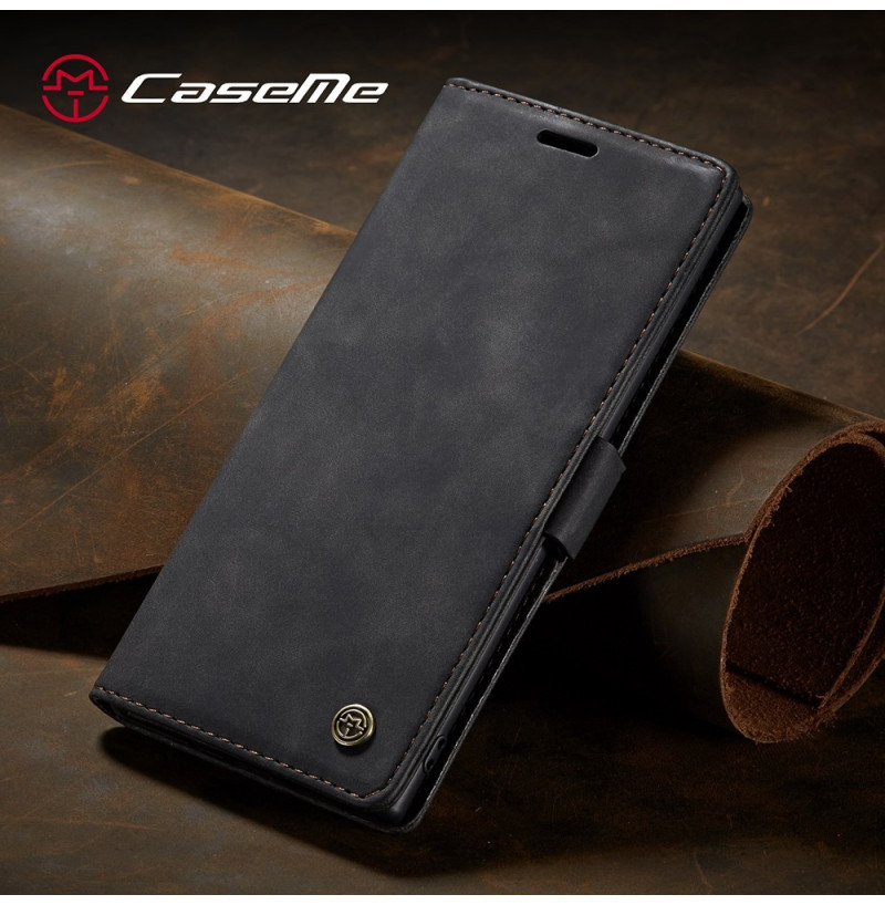 3878 - CaseMe премиум кожен калъф за Samsung Galaxy Note 10+ Plus