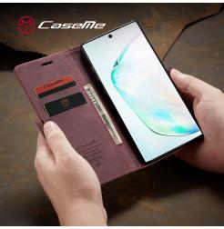 3891 - CaseMe премиум кожен калъф за Samsung Galaxy Note 10+ Plus