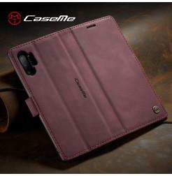 3894 - CaseMe премиум кожен калъф за Samsung Galaxy Note 10+ Plus