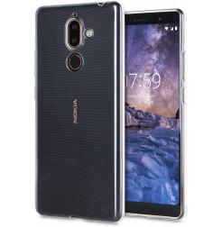 3959 - MadPhone супер слим силиконов гръб за Nokia 7 Plus