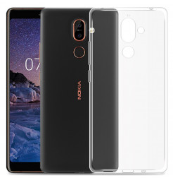 3961 - MadPhone супер слим силиконов гръб за Nokia 7 Plus