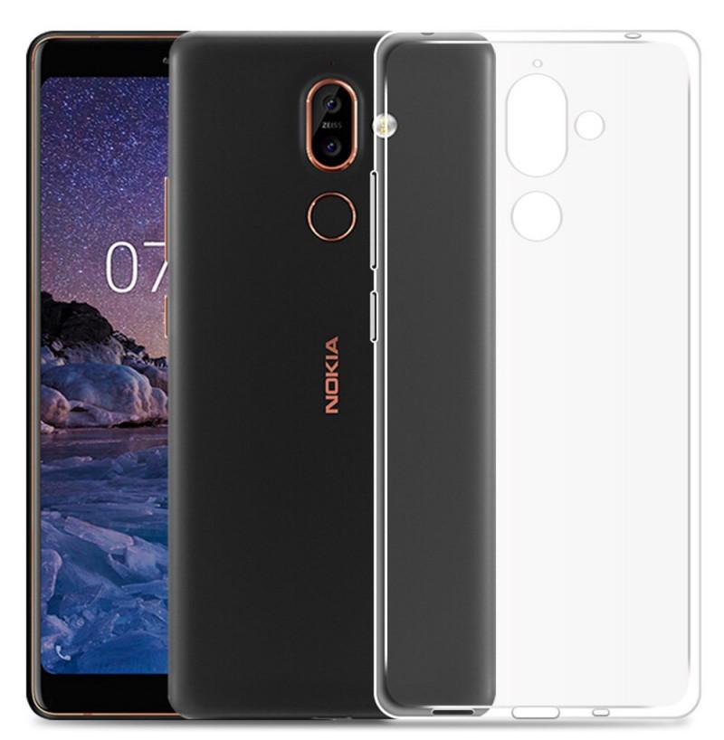 3961 - MadPhone супер слим силиконов гръб за Nokia 7 Plus