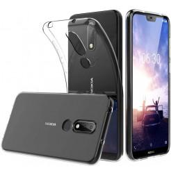 3964 - MadPhone супер слим силиконов гръб за Nokia 6.1 Plus / X6