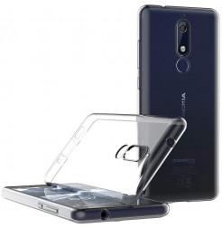 3974 - MadPhone супер слим силиконов гръб за Nokia 5.1