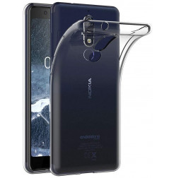 3975 - MadPhone супер слим силиконов гръб за Nokia 5.1