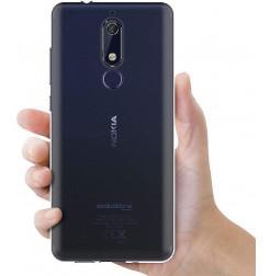 3976 - MadPhone супер слим силиконов гръб за Nokia 5.1