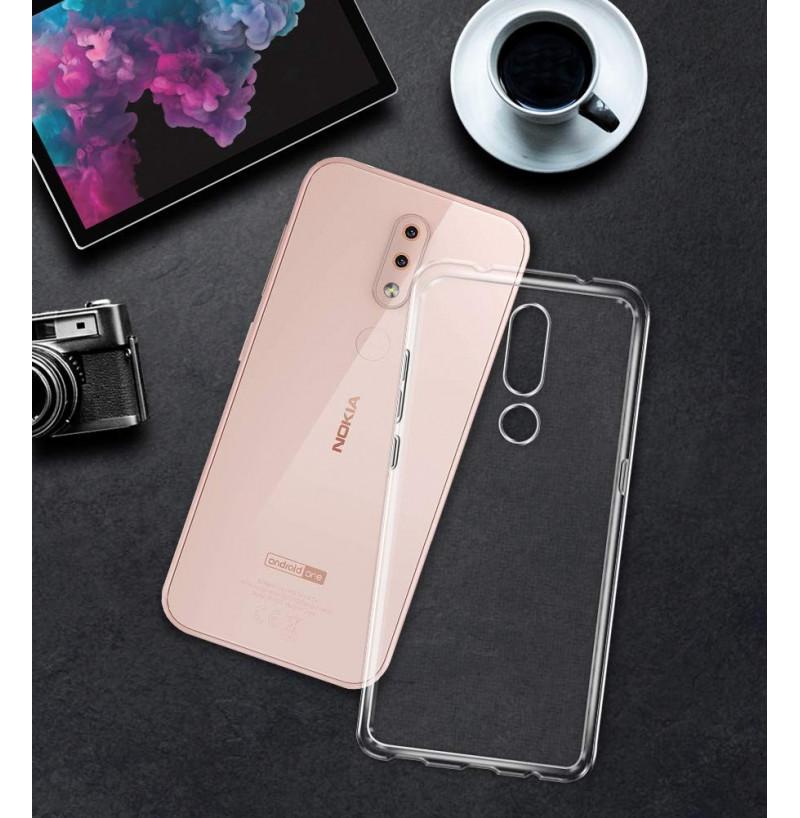 3982 - MadPhone супер слим силиконов гръб за Nokia 4.2