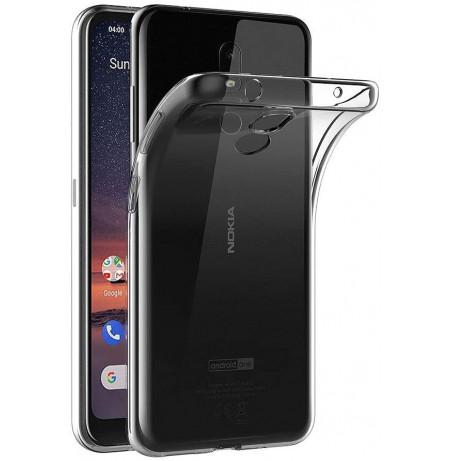 3987 - MadPhone супер слим силиконов гръб за Nokia 3.2