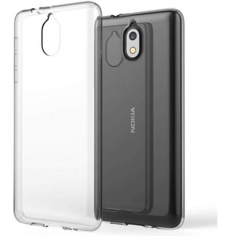 3992 - MadPhone супер слим силиконов гръб за Nokia 3.1