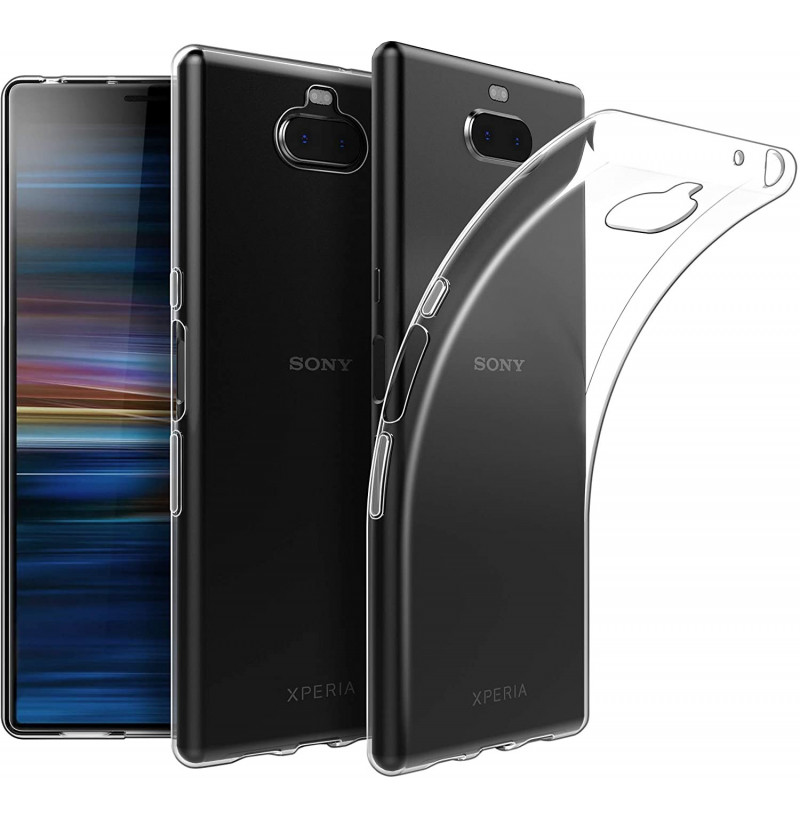 4015 - MadPhone супер слим силиконов гръб за Sony Xperia 10 Plus