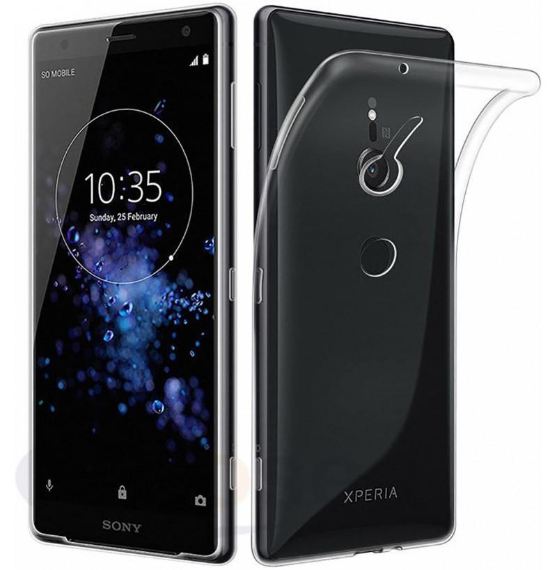 4032 - MadPhone супер слим силиконов гръб за Sony Xperia XZ2