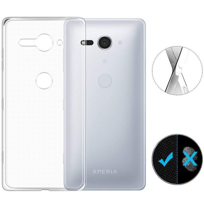 4034 - MadPhone супер слим силиконов гръб за Sony Xperia XZ2 Compact