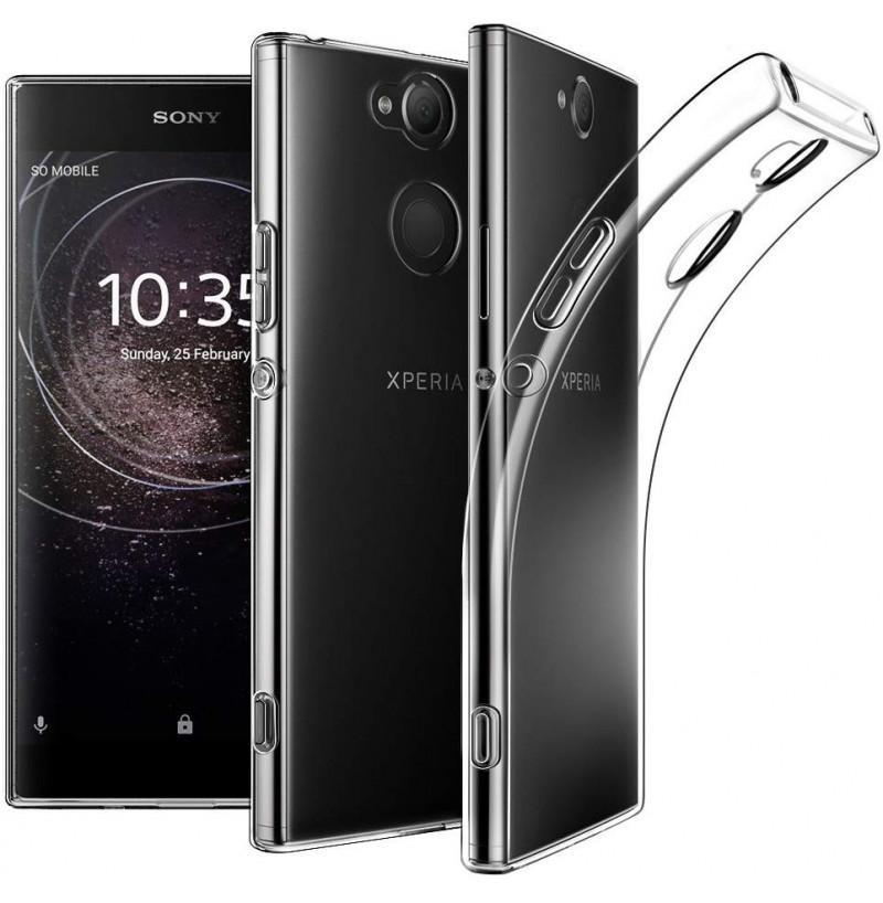 4061 - MadPhone супер слим силиконов гръб за Sony Xperia XA2