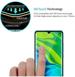 4088 - 5D стъклен протектор за Xiaomi Mi Note 10 / CC9 Pro