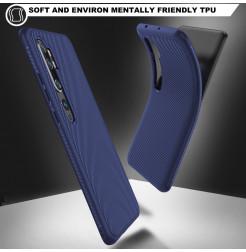 4146 - MadPhone релефен TPU калъф за Xiaomi Mi Note 10 / CC9 Pro