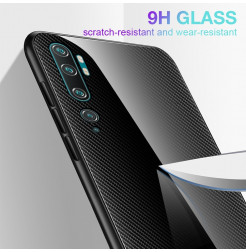 4190 - NXE Sky Glass стъклен калъф за Xiaomi Mi Note 10 / CC9 Pro