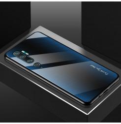4206 - NXE Sky Glass стъклен калъф за Xiaomi Mi Note 10 / CC9 Pro