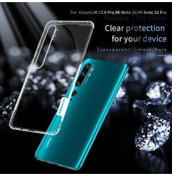 4268 - Nillkin Nature TPU силиконов кейс калъф за Xiaomi Mi Note 10 / CC9 Pro