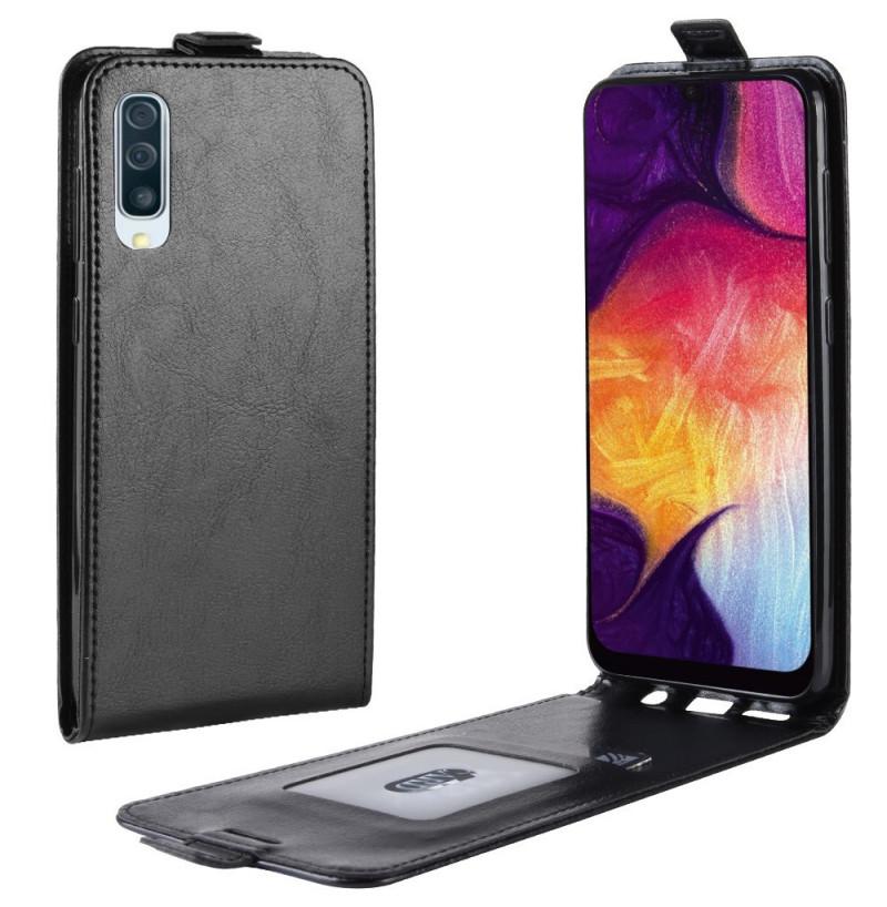 435 - MadPhone Flip кожен калъф за Samsung Galaxy A50 / A30s