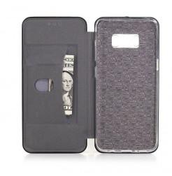 4732 - MadPhone Shell тънък кожен калъф за Samsung Galaxy S8