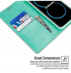 4767 - Mercury Goospery Bravo кожен калъф за Samsung Galaxy S8