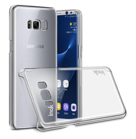 4859 - IMAK Crystal Case тънък твърд гръб за Samsung Galaxy S8+ Plus