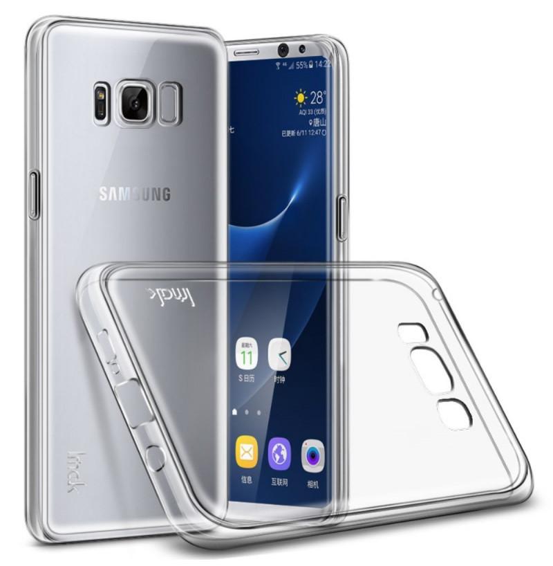 4865 - IMAK Stealth тънък силиконов калъф за Samsung Galaxy S8+ Plus