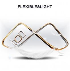 4886 - MadPhone Plated силиконов кейс калъф за Samsung Galaxy S8+ Plus