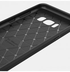 4903 - MadPhone Carbon силиконов кейс за Samsung Galaxy S8+ Plus