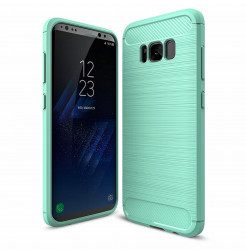 4914 - MadPhone Carbon силиконов кейс за Samsung Galaxy S8+ Plus