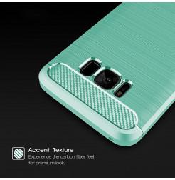 4916 - MadPhone Carbon силиконов кейс за Samsung Galaxy S8+ Plus