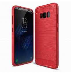 4924 - MadPhone Carbon силиконов кейс за Samsung Galaxy S8+ Plus